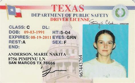 texas id card new and old flickr photo sharing