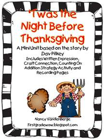 short stories for thanksgiving first grade wow twas the night before thanksgiving