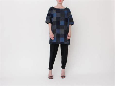 meyer patchwork denim square dress garmentory