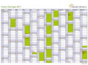 Kalender 2018 Zum Ausdrucken Mit Ferien Hamburg Ferien Th 252 Ringen 2017 Ferienkalender Zum Ausdrucken