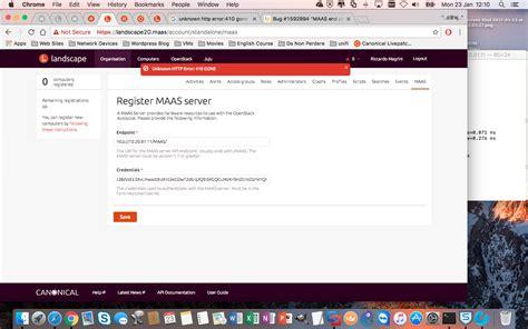 tutorial ubuntu maas ubuntu landscape cannot be added 226 œhttp 410 error gone 226