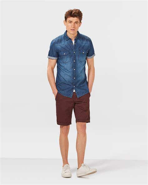 Regular Fit herren regular fit chino shorts 79856034 we fashion