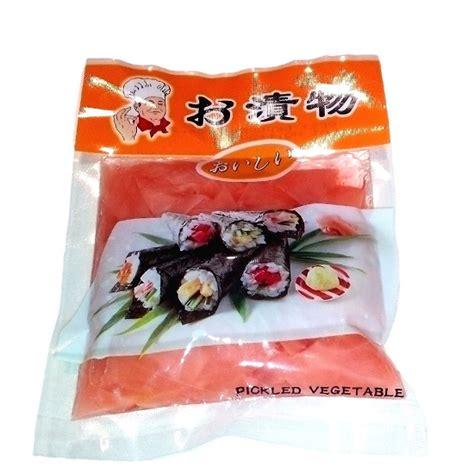 prodotti cucina giapponese zenzero rosa in salamoia per sushi 150 g 1 75 asia