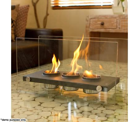 Eco Friendly Fireplaces by Home Expression Eco Friendly Rectangle Fireplace 3 Pots