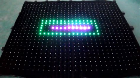 led video curtain rental flexible led video curtain led video cloth for party
