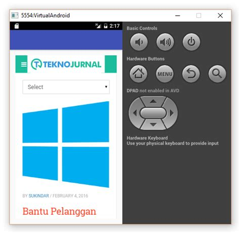 tutorial android studio video membuat aplikasi webview menggunakan android studio