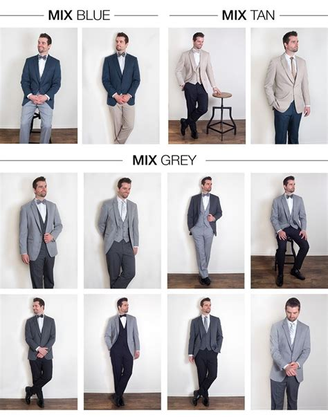 what colors match grey mix and match menswear suits blue coat with grey pants
