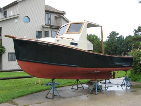 21 ft repco lobster boat sisu 22 diesel downeast 13 500 the hull truth