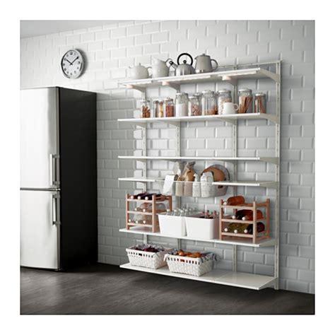 Garage Shelving Designs algot wall upright shelf and basket ikea