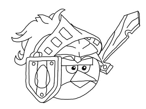 Coloring Pages Angry Birds Epic | angry birds epic coloring page my free coloring
