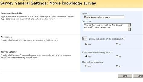 sharepoint survey workflow sharepoint creating and working with survey in