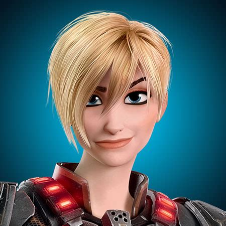 sergeant calhoun hair cut disability in animation wreck it ralph words of realms