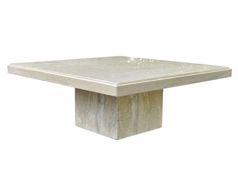 travertine top coffee table square travertine coffee table
