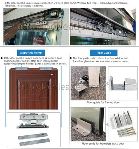 Automatic Patio Door Opener Commercial Automatic Sliding Door Opener Electric Patio Door Operator Supplier