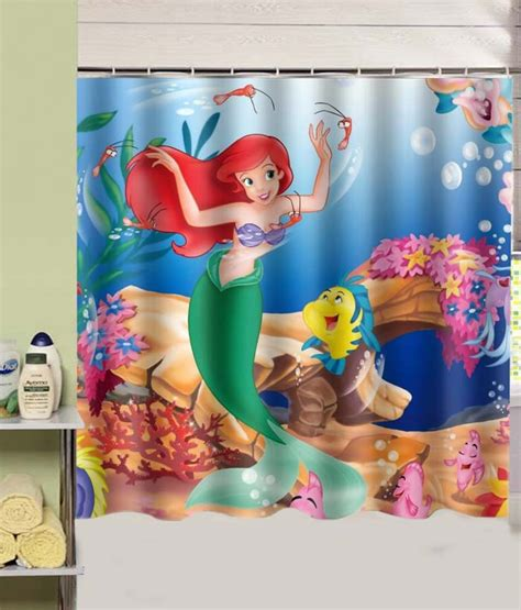 the little mermaid shower curtain popular mermaid shower fabric curtains buy cheap mermaid