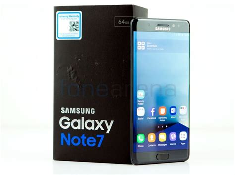 samsung f 7 samsung galaxy note7 unboxing