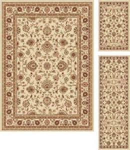 tayse rugs elegance raleigh traditional area rug 3 pc set