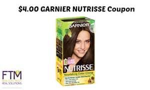 garnier nutrisse hair color coupon garnier coupon deals as low as 3 89
