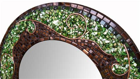 mosaik spiegel large green mosaic mirror beautiful mosaic mirror