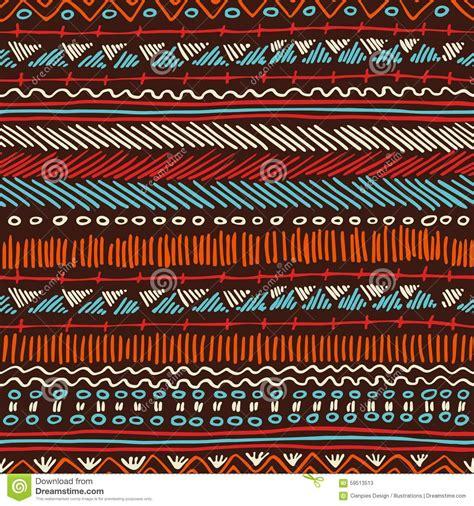 hippie tribal pattern boho seamless pattern tribal vintage background stock
