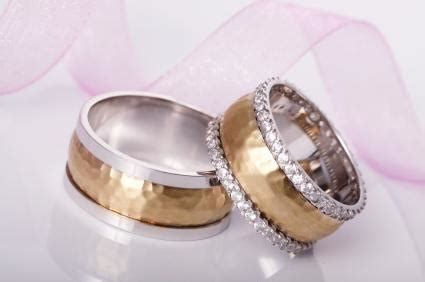 Two Tone Engagement Rings by Wedding Rings Lovetoknow