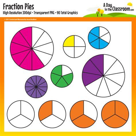 fraction clipart fraction pies clip clipart panda free clipart images