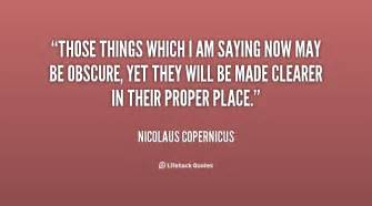 Those Things by Nicolaus Copernicus Quotes Quotesgram
