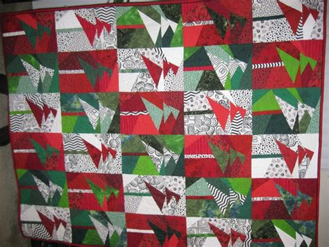 wonky christmas tree quilt pattern wonky tree quilt my last one this year