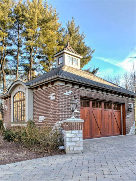 brick garage home design ideas pictures remodel and decor