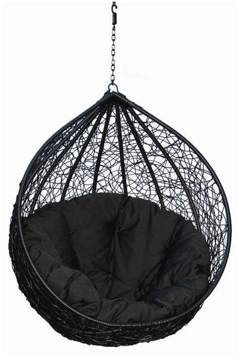 Chair Hanging From Ceiling - hanging chairs for your inspiration fancy black eclipse
