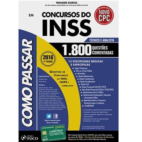 juros do inss em 2016 livro como passar em concursos do inss t 233 cnico e