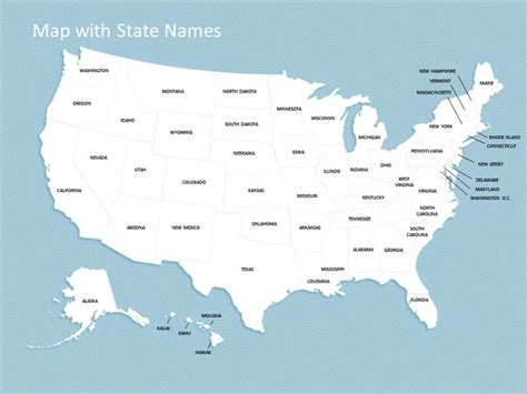 Us Map Template Powerpoint Briski Info Powerpoint Us Map Template Free