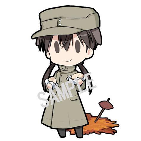 Gantungan Kunci Anime Persona 5 Beda Ekspresi promosi quot strike witches operation victory arrow quot ditayangkan