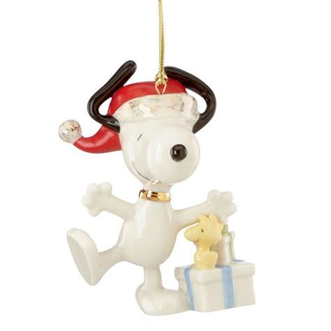2015 lenox christmas caroling with snoopy porcelain ornament