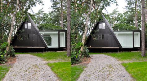 modern a frame homes rectangular addition to triangular a frame house modern