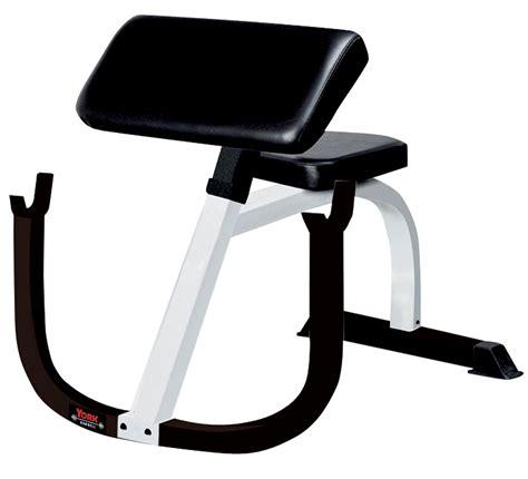 preachers bench preacher curl bench fitness training series york barbell