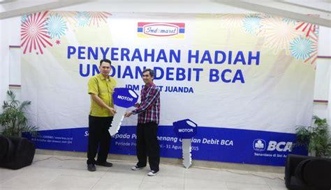 bca indomaret program kerjasama promo debit bca dengan indomaret 2015