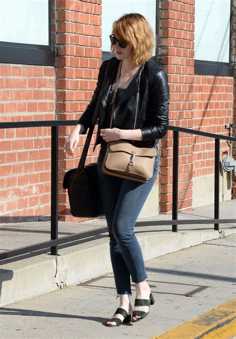 emma stone casual emma stone casual style out in beverly hills 6 18 2016