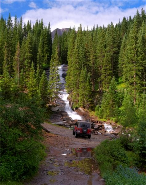 Find In Colorado Ouray Waterfall Viewing In Colorado Peaks In May And Early June