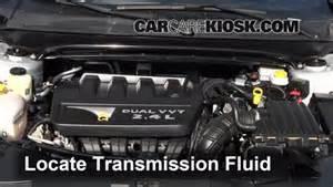 Chrysler 300 Transmission Fluid Change Transmission Fluid Level Check Chrysler 200 2011 2014