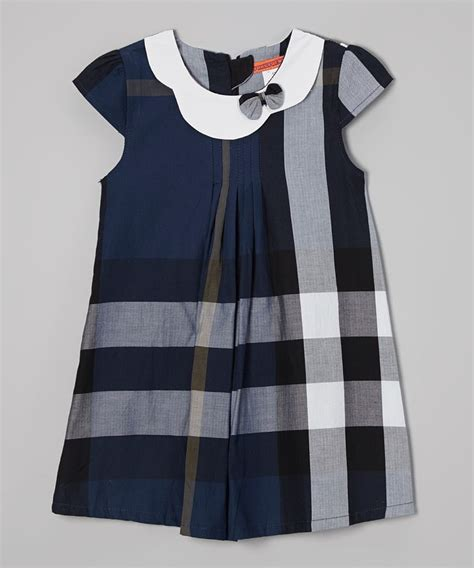 plaid swing dress navy plaid swing dress petite fille pinterest