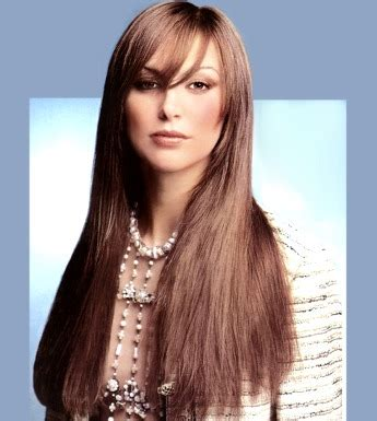 section hair for side part bangs long hair style with side part bangs brown