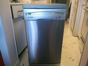 Portable Dishwasher In Apartment 18 Quot Apartment Size Stainless Steel Portable Dishwasher