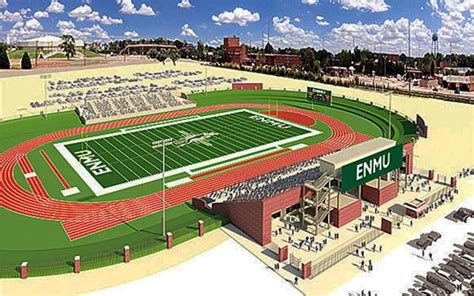 Of Eastern New Mexico Mba by Enmu Stadium Accord Reached The Eastern New Mexico News