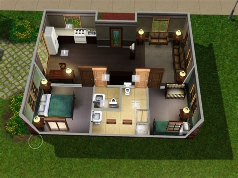 sims house floor plans family homes for sims 3 at my sim realty