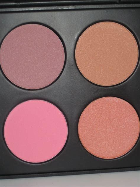 Coastal Scents Blush On Blush Palette coastal scents professional blush palette review swatches