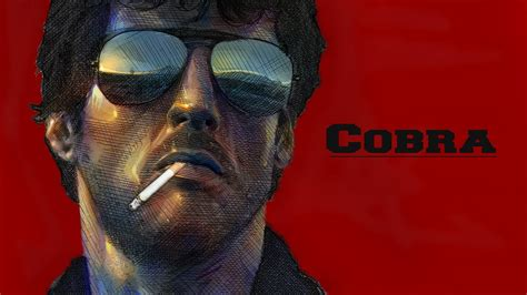 film rambo cobra cobra actors sylvester stallone red smoking glasses