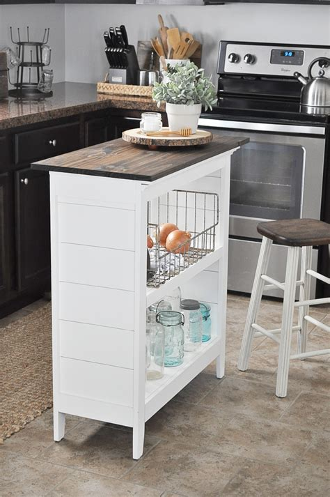 bookshelf kitchen island glass jar