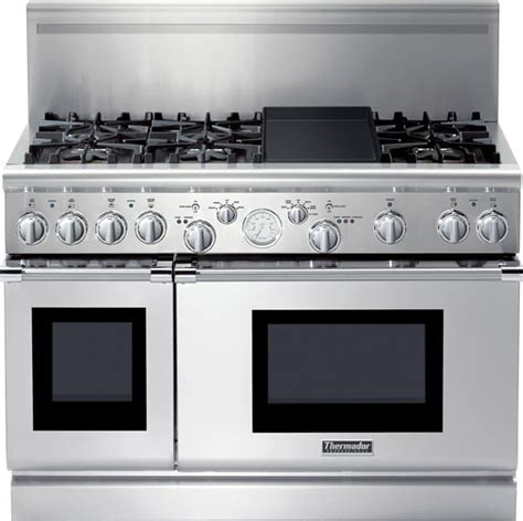 48 inch gas cooktop thermador prg486edg 48 inch pro style all gas range with 6
