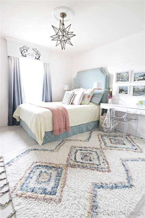 girls rugs for bedroom new colored moroccan shag rug pastel girls room blue